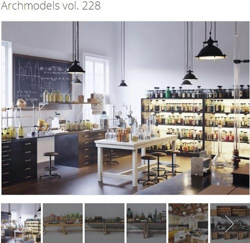 Evermotion - Archmodels Vol. 228