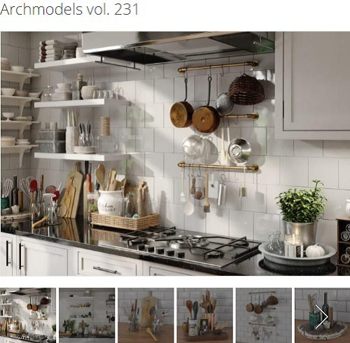 Evermotion - Archmodels Vol. 231