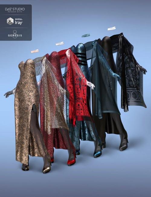 dForce Natasha Rose Outfit Textures