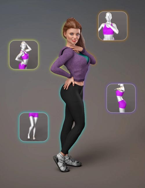 NG Build Your Own Standing Poses - Expansion Pack 1