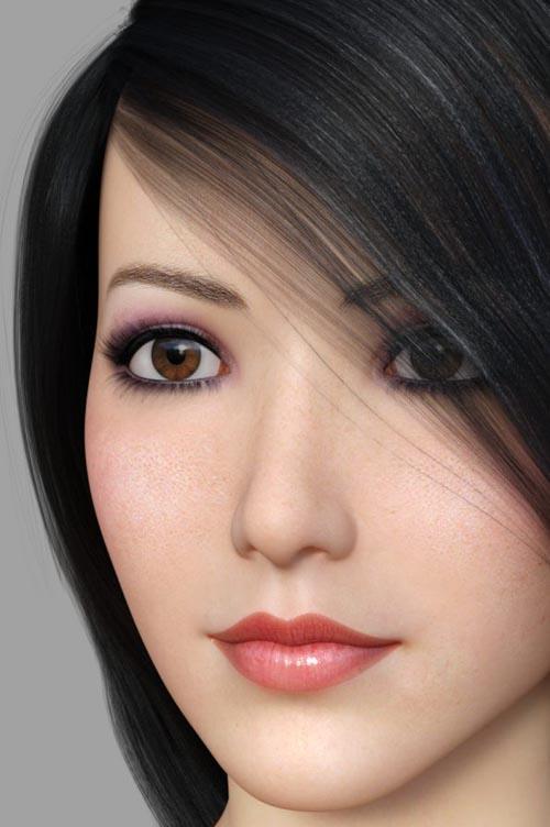 Arni Ikato For Genesis 3 Female
