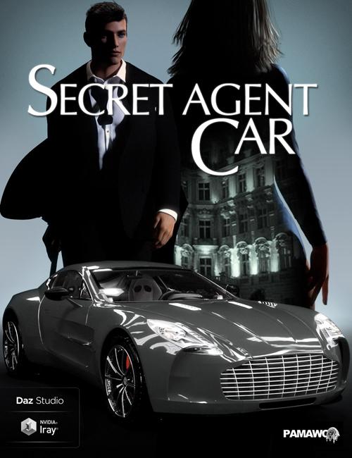 Secret Agent Car for DS