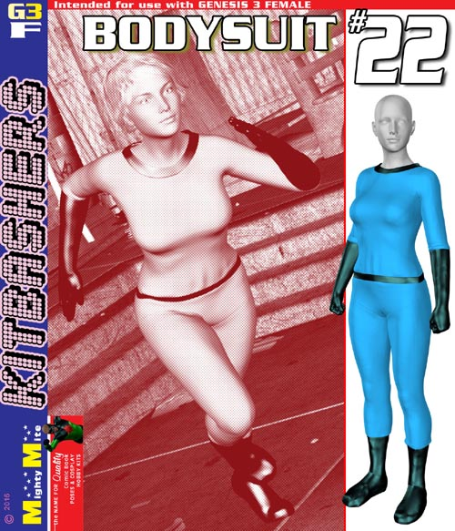 Bodysuit 022 MMKBG3F