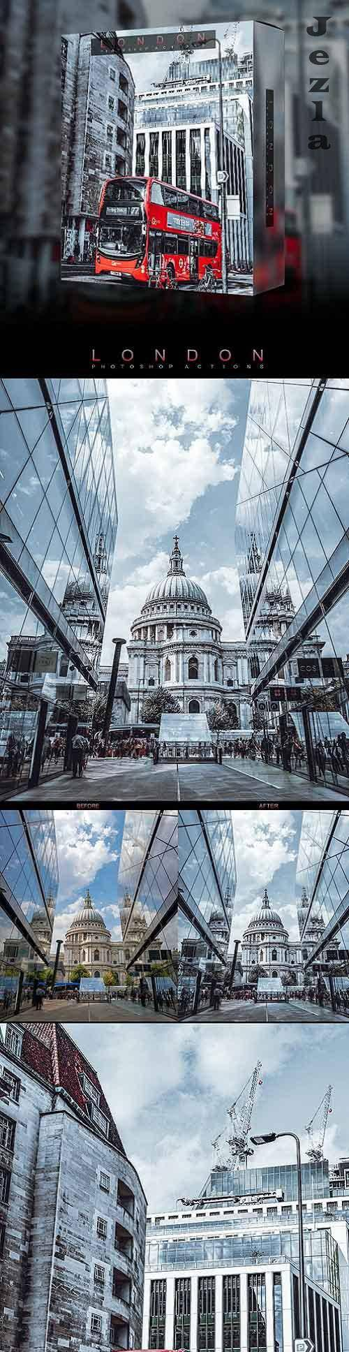 Famous City's / London - Photoshop Action 26697744