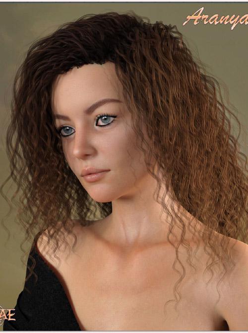 Prae-Aranya Hair For G8 Daz