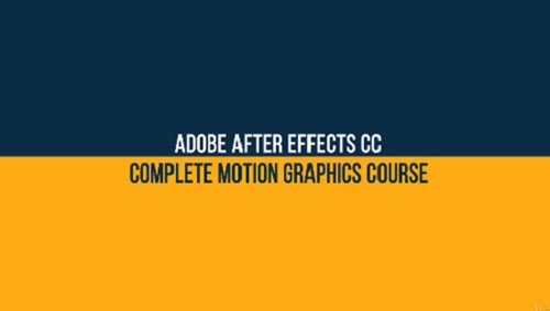 Udemy – After Effects CC: The Complete Motion Graphics Masterclass
