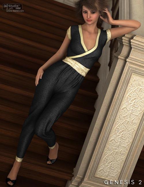 Ashleigh Jumpsuit for Genesis 2 Female(s)