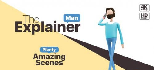 Videohive - The Explainer Man - 25543226