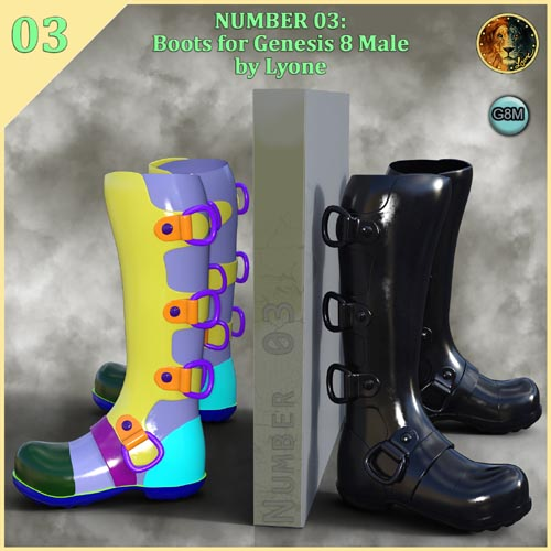 Lyones Number 03 boots for G8M