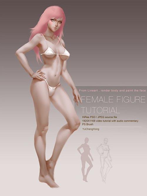 Gumroad – Paint Female Body Tutorial by Yu Cheng Hong