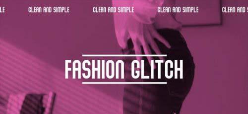 Videohive - Fashion glitch opener - 27927361