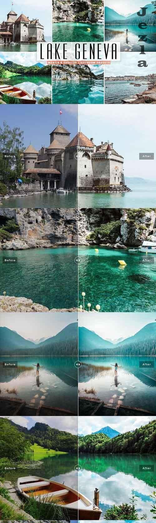 Lake Geneva Pro Lightroom Presets - 5344991 - Mobile & Desktop