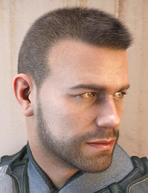 LI Crew Cut Hair for Genesis 8 Male(s)