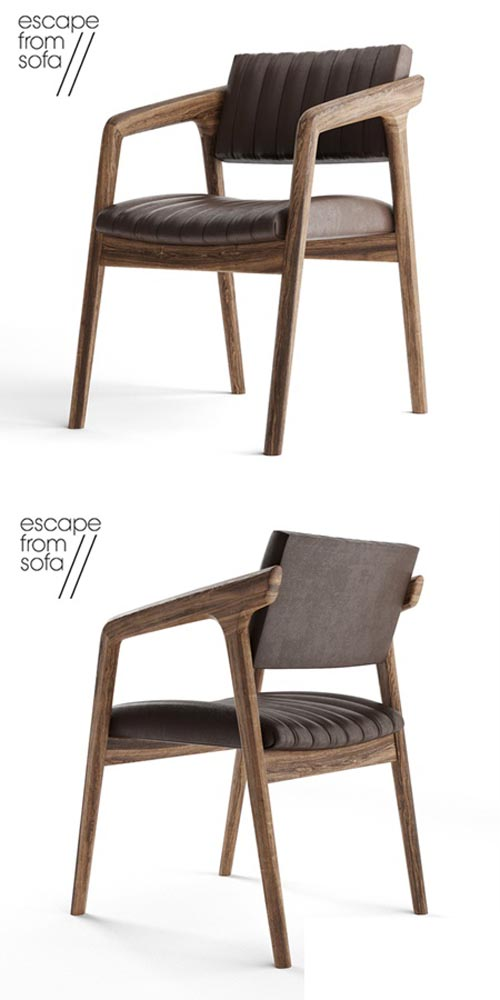 Chair Escape From Sofa SHORT SLICED