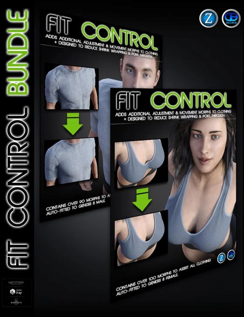 Fit Control Bundle for Genesis 8 Female(s) and Male(s) (2020-09-09)