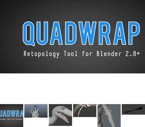 Blendermarket - Quadwrap v1.1 and Mesh Materializer v0.0.16