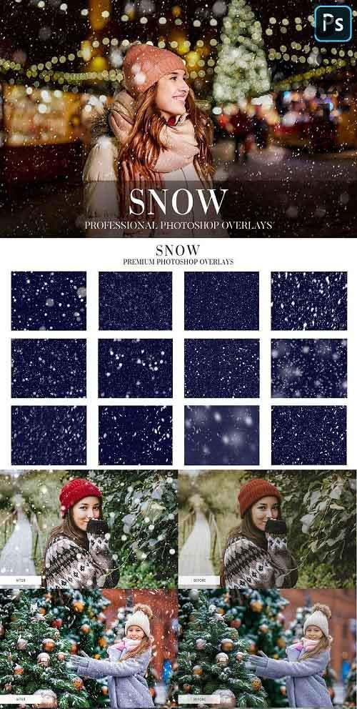 Snow Photo Overlays 4942645