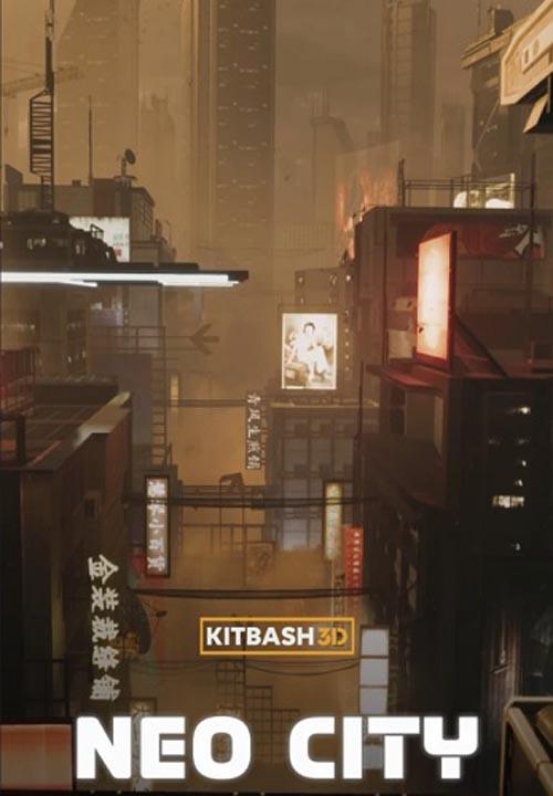 KitBash3D – Mini Kit Neo City
