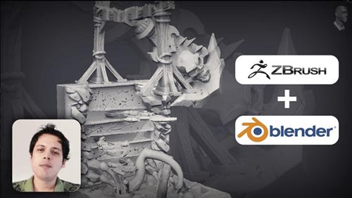 Udemy – Sculpting Props for 3D Printing Using zBrush 2020 & Blender