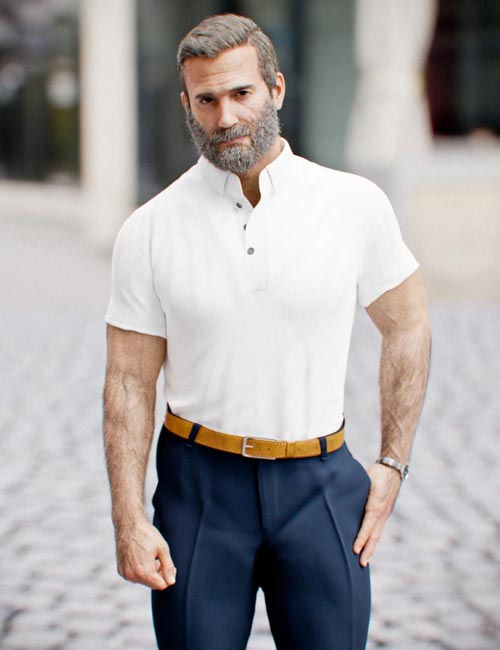 dForce MI Casual Outfit for Genesis 8 Male(s)