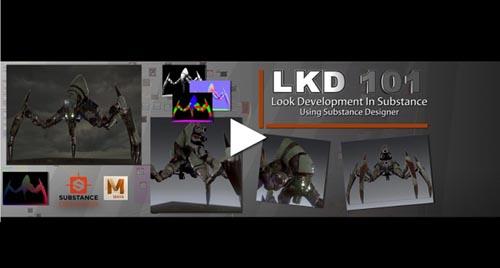 CGCircuit – LKD 101 – Look Development in Substance