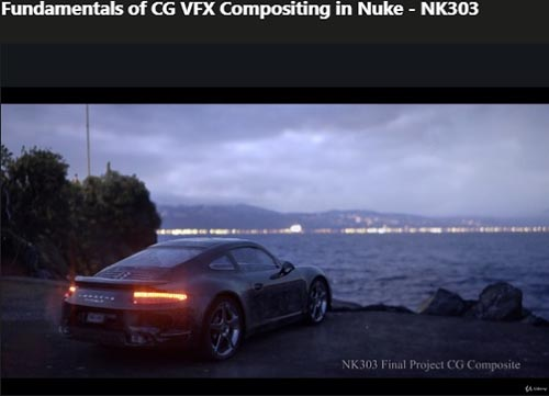 Udemy – Fundamentals of CG VFX Compositing in Nuke – NK303