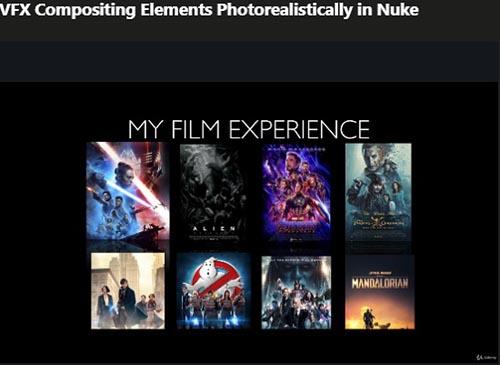 Udemy – VFX Compositing Elements Photorealistically in Nuke