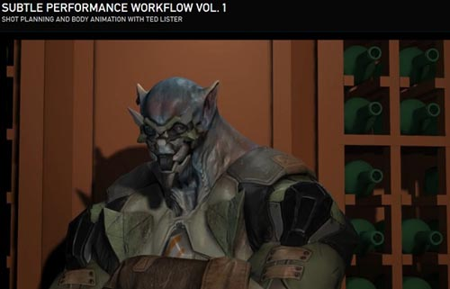 The Gnomon Workshop – Subtle Performance Workflow Vol. 1
