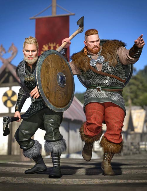 Viking Raider Outfit Textures