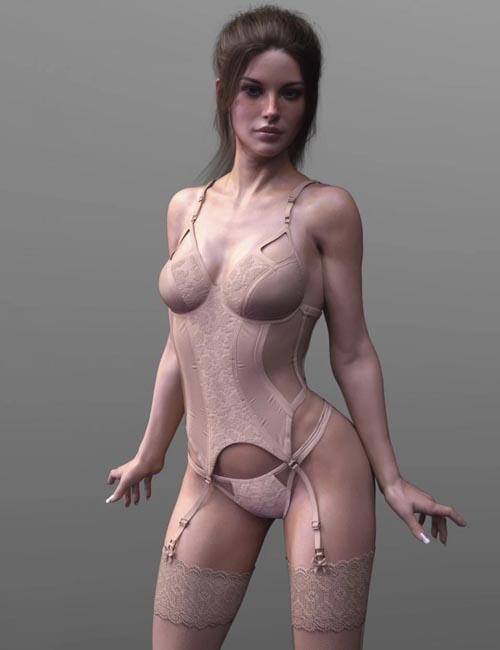 X-Fashion Wild Lace Lingerie Set Genesis 8 Female(s)