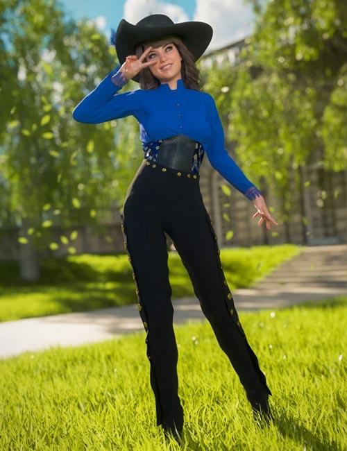 Corsair Fashion for Genesis 8 Female(s)
