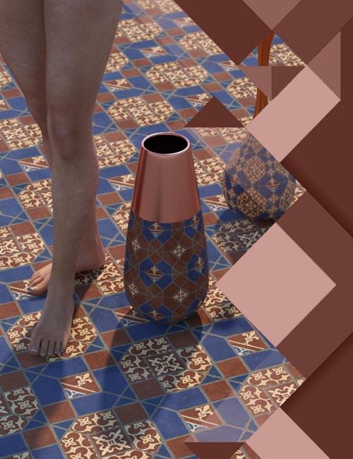 Medieval Inspired Floor Tile Shaders Vol 3