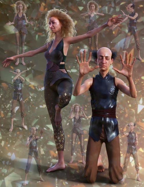 Mystic Poses for Genesis 8