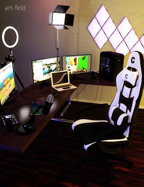 The Streaming Influencer Setup