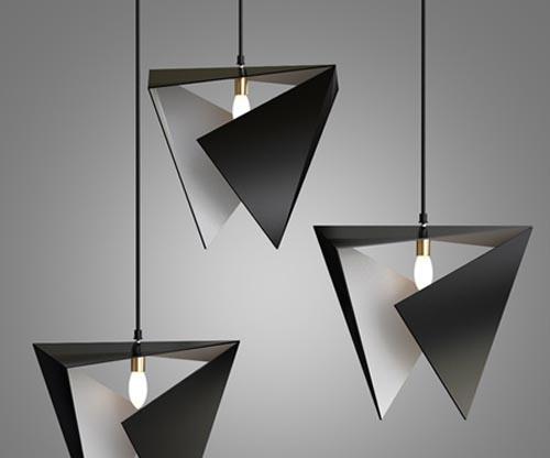 Origami light fixture