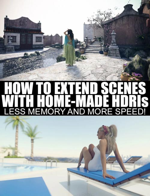 How To Extend Scenes With Home-Made HDRIs
