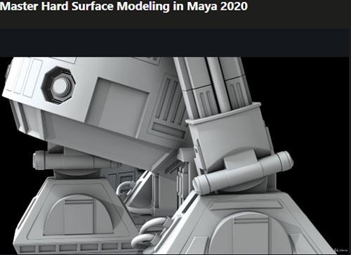 Udemy – Master Hard Surface Modeling in Maya 2020