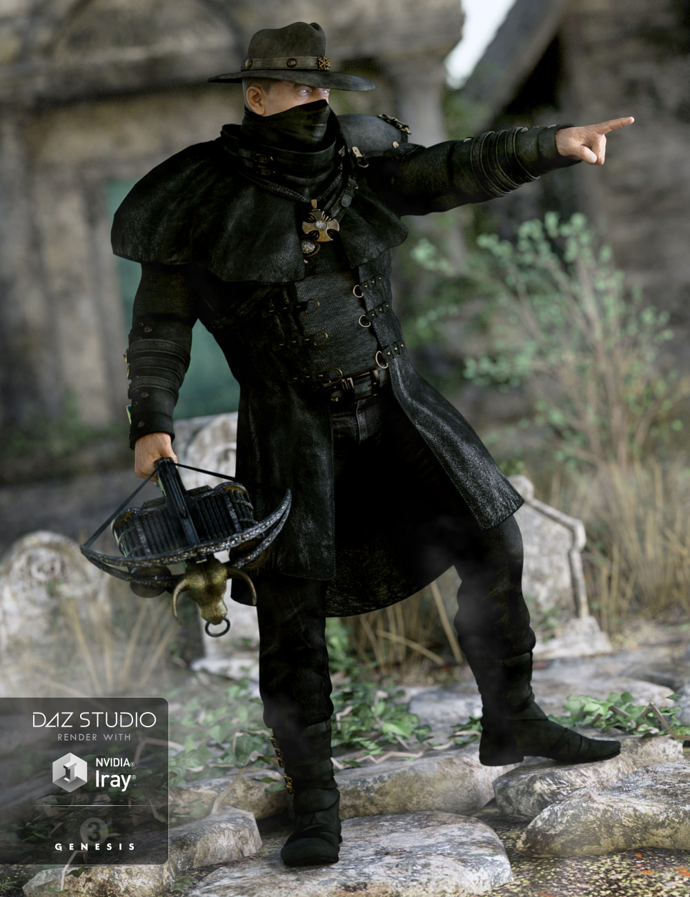 Dragoh Outfit for Genesis 3 Male(s)