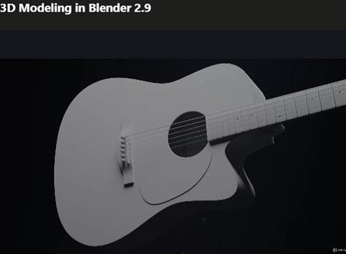 Udemy – 3D Modeling in Blender 2.9