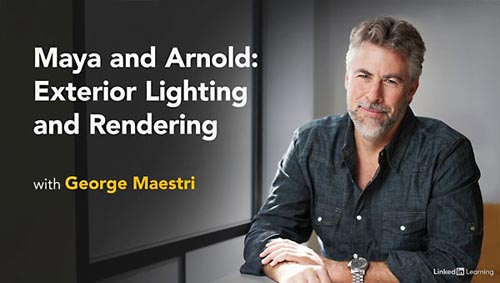 Lynda – Maya and Arnold: Exterior Lighting and Rendering