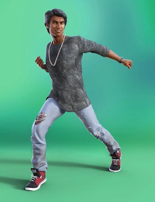Dancing Animations for Genesis 8