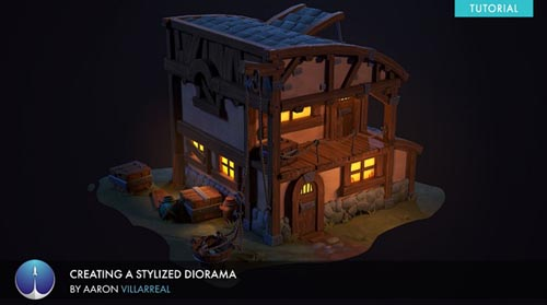 Exp-points – Creating a Stylized Diorama Aaron Villarreal