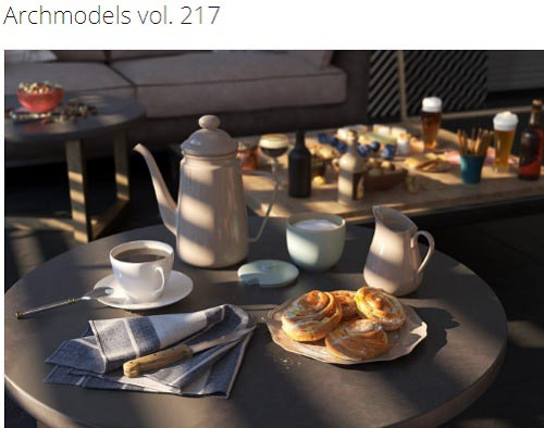 Evermotion – Archmodels vol. 217
