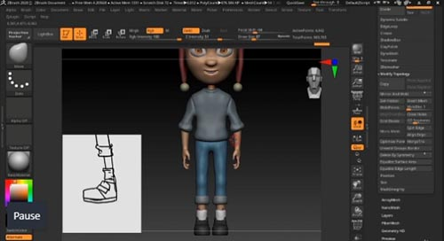 Udemy - Zbrush for Beginners: Learn How to Sculpt a 3D Character