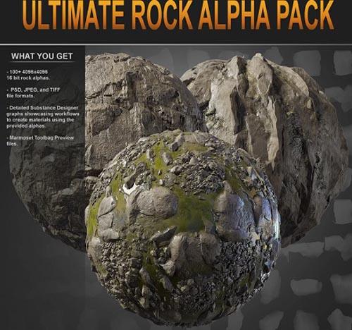 Gumroad - Ultimate Rock Alpha Pack
