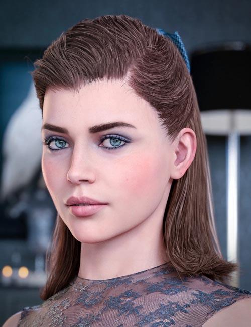 Kelya Good Girl Hair for Genesis 8 Females