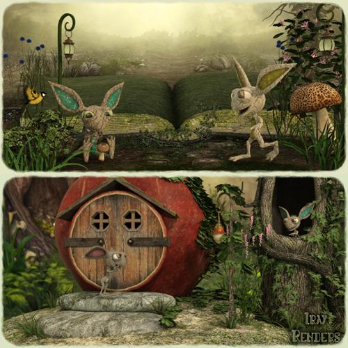 Styles For Thorn By CHK2033 - Daz Studio Iray