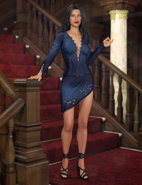 Descant Outfit for Genesis 8 Female(s)