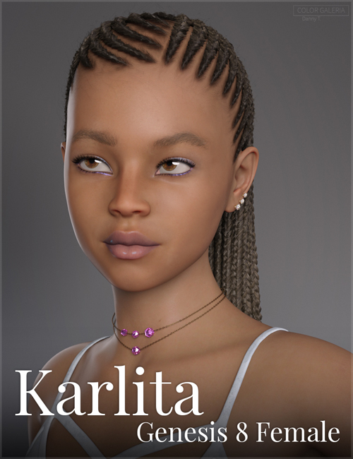 Karlita for Genesis 8 Female - Teen