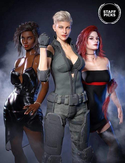 Staff Picks for Genesis 8 Females Bundle 1